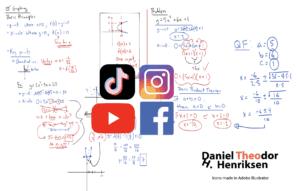 algoritme ikoner sosiale medier
